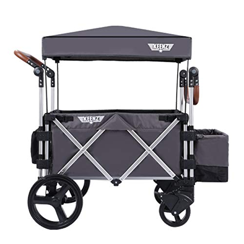 Keenz Stroller Wagon – 7S Pull/Push Wagon Stroller – Safe and Secure Baby & Big Kids Wagon with Canopy & Other…