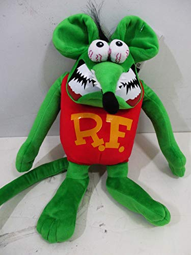 (American Collectibles Rat Fink Bendable Wire Plush Stuffed Toy, Bid Daddy Ed Roth)
