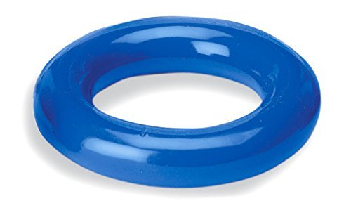 Heathrow Scientific HS8882C Clearly Safe Vinyl-Coated Lead Ring, Circular, fits 500 to 2000 mL, Blue by Heathrow Scientific