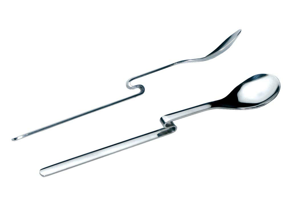 CHG Nassau bend-spoons Long Drink / / Latte Macchiato Spoon 2 pcs / pack.