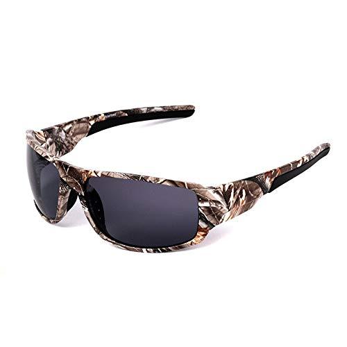 vidrios pescan Que Deportivas Los del D vidrios Gafas del Hombre los polarizadas Deporte Las polarizados sunglasses Gafas polarizan B Camuflaje Mjia BwfXAq