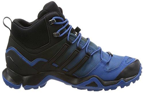 Adidas Mannen Terrex Swift R Mid Gtx Wandelschoenen Blauw (azubas / Negbas / Blatiz)