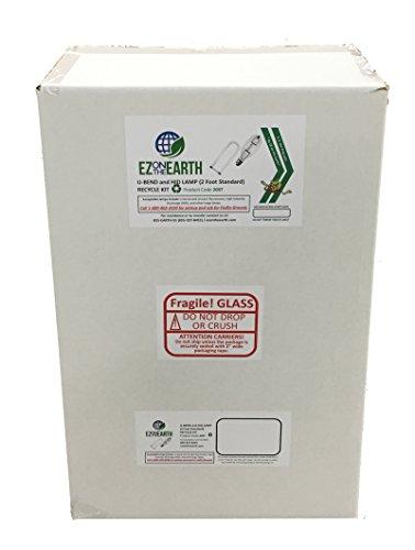U-Bend and HID Lamp (2 Foot STANDARD) Recycle Kit (recycle up to 22 T12 Lamps or 32 T8 U-Bend Lamps)
