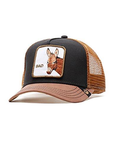 0edbfa0f572 Goorin Brothers Unisex Animal Farm Snap Back Trucker Hat Black Donkey One  Size