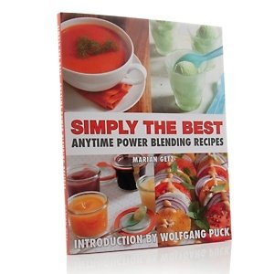 Simply The Best Anytime Power Blending Recipes Cookbook, used for sale  Delivered anywhere in USA