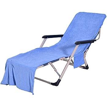 Amazon Com Wisehome Chaise Lounge Pool Chair Cover Beach