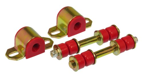 (Prothane 7-1129 Red 19 mm Rear Sway Bar Bushing Kit)