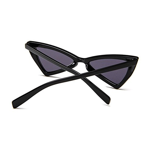 Glasses intensity Sun Triangle Series Cat Glare Personality Style Hzjundasi Eye Retro Noir MOD Non proof Glasses w8qW6C0