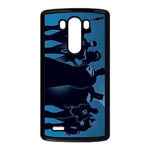 Héroes Dc Funda LG G3 Funda del teléfono celular de la caja del teléfono del estuche rígido X1F2LJ1T Negro Activo