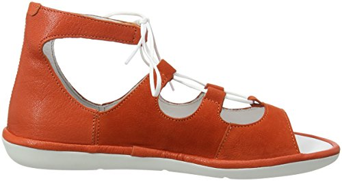 Orange Poppy Naranja Sandalias Mura859fly Descubierta Fly para Punta London de Mujer qAwzOU7v