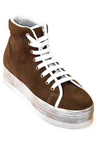 JC Play calzature sneakers alta scamosciato