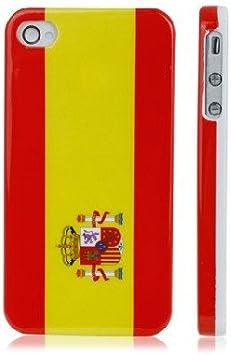 Funda Carcasa Dura para Apple iPhone 4 / 4S Bandera España: Amazon.es: Electrónica