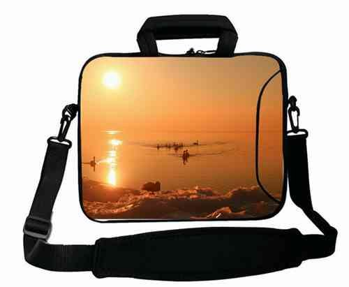 customized-with-animals-swans-lake-sunset-nature-beauty-shoulder-bag-for-women-15154156-for-macbook-