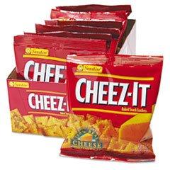 (6 Pack Value Bundle) KEB12233 Cheez-It Crackers, 1.5oz Single-Serving Snack Pack, 8 Packs/Box