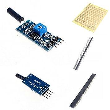 ULIAN Módulos/sensores Arduimo accessonries para Arduino Módulo Sensor de Vibración y Accesorios para Arduino