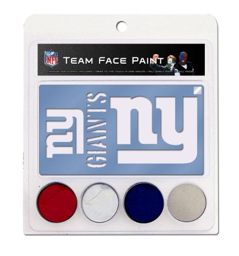 NFL New York Giants Face Paint Kit