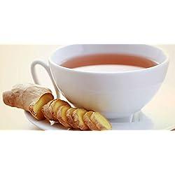 100% HOME GROWN CEYLON Ginger Tea - 20 count.