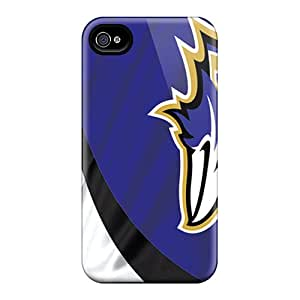 AlissaDubois Iphone 6plus Shockproof Hard Phone Case Unique Design Realistic Baltimore Ravens Skin [FJZ10376ARst]