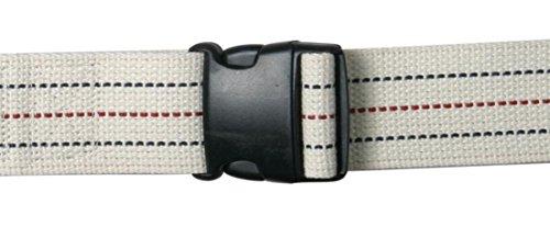 Pinstripe Buckle (AliMed Gait Belt, Pinstripe with Plastic Buckle, 70