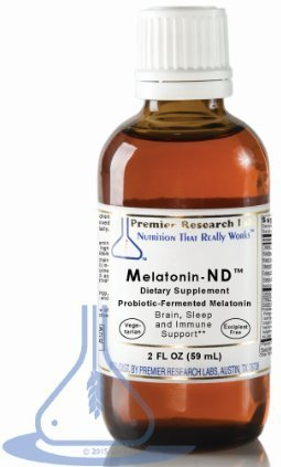 PREMIER RESEARCH LABS Melatonin ND - Brain, Sleep, and Immune Support (2 Ounce - 58 Milliliter)