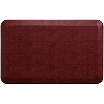NewLife By GelPro Anti Fatigue Designer Comfort Kitchen Floor Mat, 20x32u201d,  Pebble Pomegranate Stain Resistant Surface With 3/4u201d Thick Ergo Foam Core  For ...