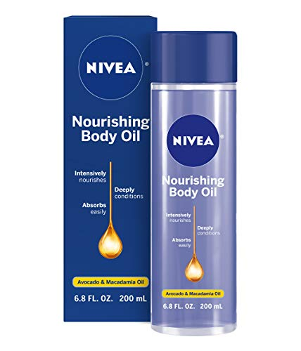 NIVEA Nourishing Body Oil 6.8 fl oz (Nivea Firming Body Lotion Before And After)