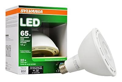 Sylvania 79259 Dimmable 11W Led Par38 Narrow Flood Bulb,