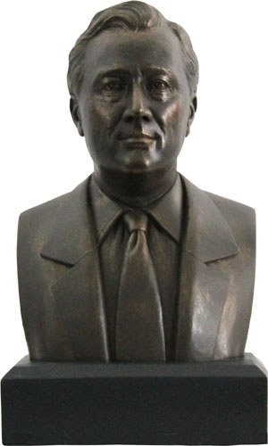 (Franklin D. Roosevelt Bust - Great Americans - Magnificent)