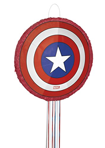 Captain+America Products : Captain America Pinata, Pull String