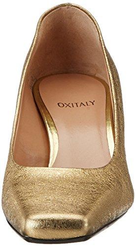 Fermé Escarpins Or Oro Oxitaly Femme Bout Oro Adele 200 SaIIcqYE