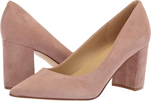 Marc Fisher Women's Claire Blush New Silky Suede 8.5 M US
