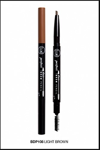 J. Cat Perfect Brow Duo Pencil 108 Light - Cat Eyebrow