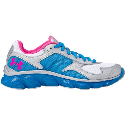 Girls Under Armour Micro G Skulpt Youth  Silver/Pool/Cerise