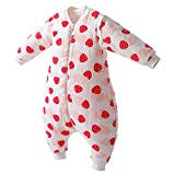 Unisex Baby 100% Cotton Daily Play and Sleep Detachable Sleeves Sleep Bunting 6 Month-18 Month