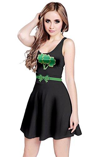 CowCow - Vestido - para mujer Green Simple