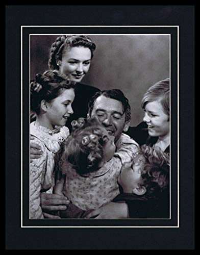 It's a Wonderful Life Cast Framed 11x14 Photo Display