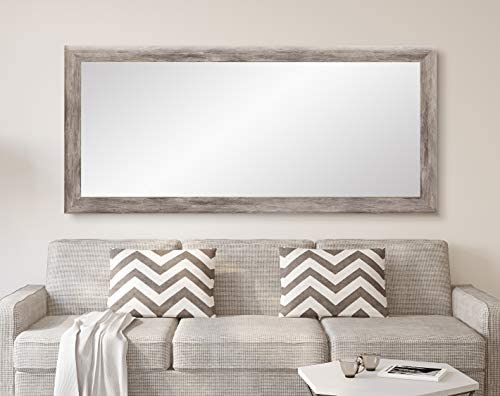 BrandtWorks Barn Wood Full Length Floor Vanity Wall Mirror