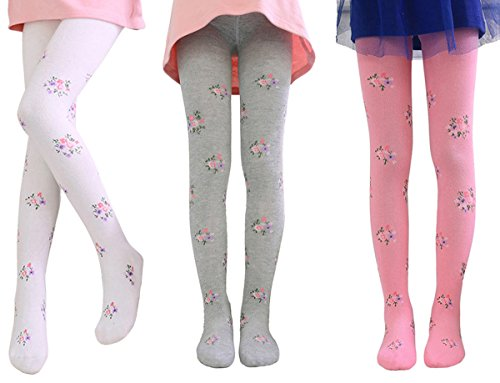 Floral Flower Tights - 3