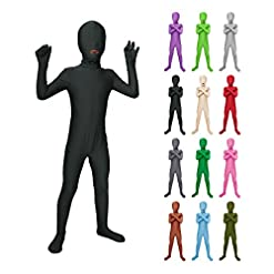 - 41wPYrRchTL - Sheface Kids Spandex Mouth Open Bodysuit Fancy Dress Costume