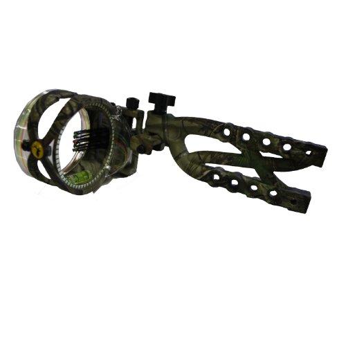 Trophy Ridge AS635 Cypher .019 Micro Adjust Bow Sight, Camo, 5 Pin
