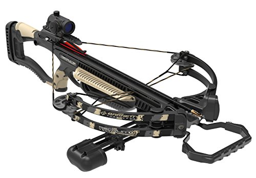 Barnett Sight - Barnett Recruit Youth Light 100 78653 YTH Crossbow Pkg. W/Red Dot Sight & Quiver, One Size