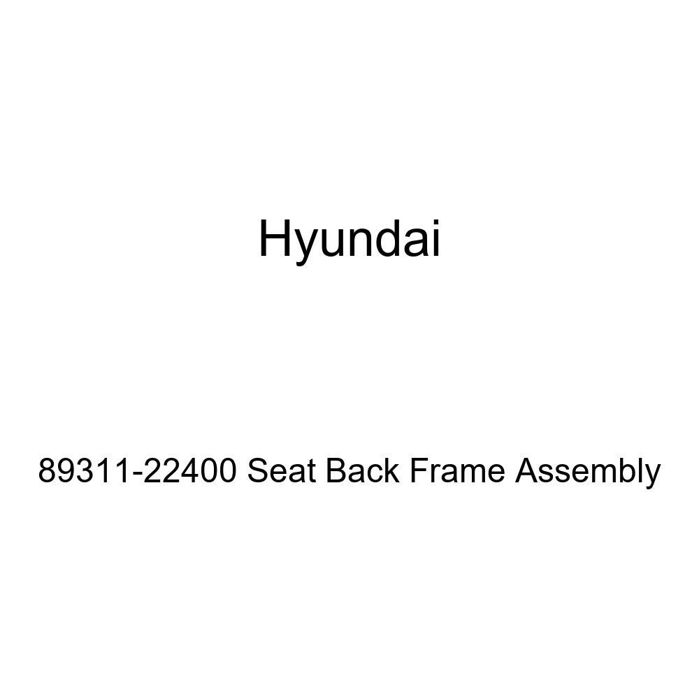 Genuine Hyundai 89311-22400 Seat Back Frame Assembly