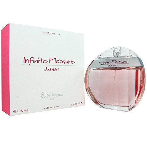 Estelle Vendome Infinite Pleasure Just Girl for Women Eau De Parfum Spray, 3.4 Ounce