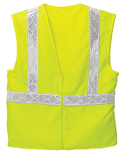 (Enhanced High Visibility Port Authority Vest-SV07-SV12 (S/M, Safety Yellow))