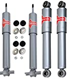 NEW Front & Rear Shock Absorbers Kit KYB Gas-a-Just for Chevrolet Corvette 84-87