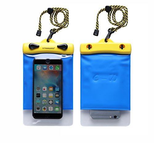 Dry Bag TPU Waterproof Case Bag For Smart Phone Apple iPhone 6S, CellPhone, HTC LG Sony Nokia Motorola 1218