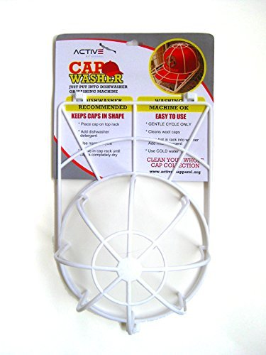MEKBOK Cap Washer Ball Cap Hat Washer Excellent Hat Cleaner Clean All Your Hats from Your Hat Rack, Cap Holder, Hat Hanger and Cap Organizer. Safe for Dishwasher and Washing -
