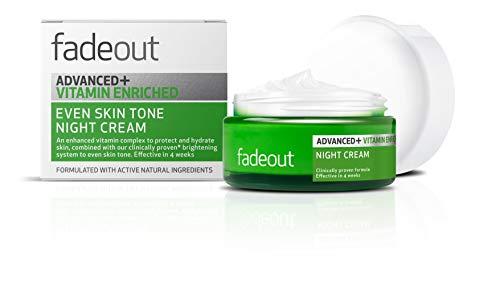 fadeout Advanced + Vitamin Enriched Even Tone Night Cream, 1.69 ounces, 50ml