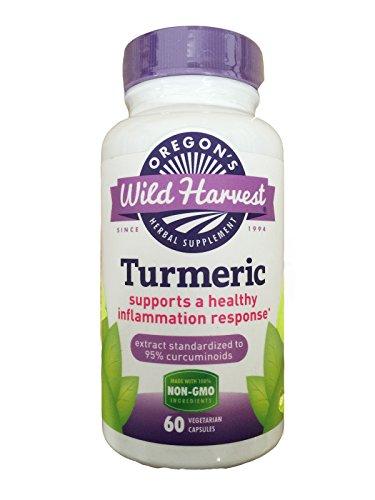 Turmeric – 60 Vcaps, oregon s Wild Harvest 4 Pack