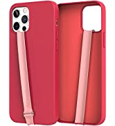 Sinjimoru Stretching Silicone Phone Strap as Cell Phone Grip Holder, Reusable Slim Cell Phone Hol...
